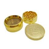 Liga de zinco Rebarbadora Herbarl Triturador de metal cor de ouro