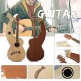 Feste gezierte Spitzengitarren-akustische Harfe-Gitarre hergestellt in China