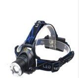 焦点LEDのヘッドライトを回すLinght屋外の強いT6ヘッドランプ/Free