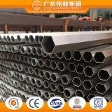 El aluminio/aluminio/aluminio extruido, perfil de tubo y tubo redondo con diferentes especificaciones