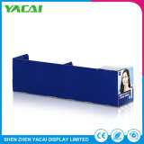 Rack de exposições de conexão dobrada resistente suporte de monitor de papel