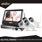 macchina fotografica impermeabile senza fili del sistema IP del CCTV di WiFi IR dei kit di 4chs 1080P NVR