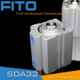 De Compacte Pneumatische Cilinder van de Cilinder SMC met Staaf