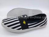Hotsaleの女性注入のズック靴の偶然のスニーカーの靴(FPY818-14)