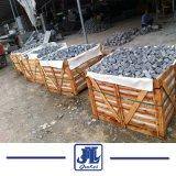 G654 los adoquines de granito gris, gris plateado, adoquines de granito gris claro flameados Adoquines, baldosas y adoquines grises de sésamo, Sesame exfoliado gris adoquines