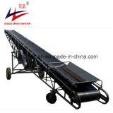 Transporte de roda portátil do patim do sistema de transporte do armazém movente da grão na boa operação