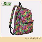 Причудливый дешевые цветастые Backpacks школы завальцовки Gilrs для средней школы