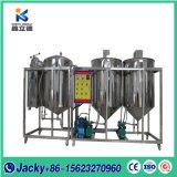 高性能のココナッツ油の精製所機械