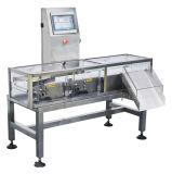 Cadena de producción que pesa la máquina de la verificación
