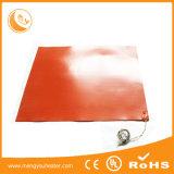 riscaldatore di piccola dimensione personalizzato 30W della gomma di silicone 12V di 70X70mm