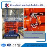 levage électrique de ciseaux de 14m de la capacité 500kg de levage