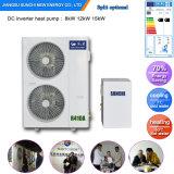 - chaufferette air-eau de chauffage d'étage de temps de l'hiver 25c + de pompe à chaleur d'hôtel de Dhw Evi 35kw/70kw/105kw (CE, CB, RoHS, UL, EXTENSION)