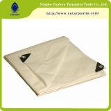 Bianco resistente impermeabile Tarps del legname 105GSM del PE