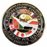 A moeda feita sob encomenda do desafio da lembrança das forças do metal para coleta (XD-0706-9)