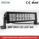 Происхождения на заводе низкая стоимость 60W 12-дюймовый светодиодный индикатор по просёлочным дорогам бар (GT3100-60W)
