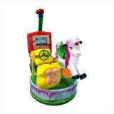 Innenspielplatz-Geräten-Münzenspiel-Maschine zwei Sitzkind-Schwingmaschinen-Kinder