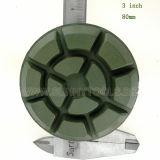 3 duim 80mm de Concrete Stootkussens van de Band van de Hars van de Diamant van de Vloer Malende Oppoetsende