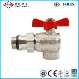 Латунные трубопровода шарового клапана (угол и в зависимости от температуры)