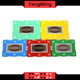 Schürhaken-Chips des Lehm-760PCS stellten/die Kronen-Lehm-Kasino-Chips, die für spielendes Spiel mit Aluminiumfall eingestellt wurden ein ()