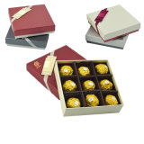 De Gift van de Gunst van het Huwelijk van de douane schittert Vakje van de Chocolade van de Rechthoek van het Document het Lege