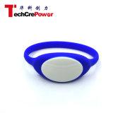 Подгонянный пассивный браслет RFID, горячий Wristband силикона RFID сбывания/браслет, NFC делает Wristband водостотьким - синь F08