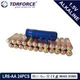 Mercury&Cadmium freie China Fabrik 5 Jahre Lagerbeständigkeits-ultra alkalische Batterie-mit Belüftung-Kasten (AA/AAA)