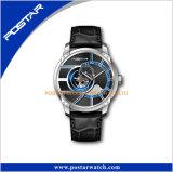 La marque originale des hommes de façon mécanique Tourbillon Squelette de luxe montre-bracelet automatique