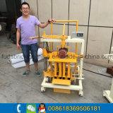 小さい低価格の卵置くブロック機械