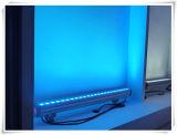 Van de LEIDENE van Gbr IP65 Wasmachine van de Muur 24PCS Strook van de Staaf de Lichte 3W RGB 3in1 voor Openlucht Waterdicht Stadium die Lichten verfraaien