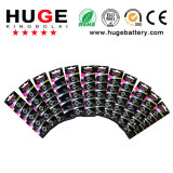 1,55 В 10% Silver содержание оксида серебра аккумуляторной батареи (377)