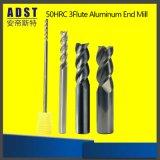 Cortador do moinho de extremidade da flauta da máquina-instrumento 3 do carboneto do CNC
