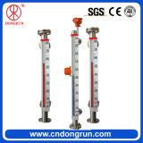 Calibrador llano líquido magnético Cara-Montado de alto Accurancy