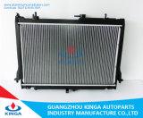 Radiateur de l'automobile pour 2012 Isuzu Dmax 2500cc au brasage en aluminium