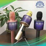5W Громкоговоритель беспроводной микрофон караоке АС с Bluetooth светодиодные индикаторы