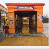 Túnel completamente automático, Sistema de máquina de lavado de automóviles de fabricación de equipos de limpieza fábrica rápido coche arandela 14 cepillos