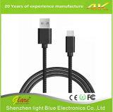 Type à grande vitesse C à câble tressé en nylon d'USB