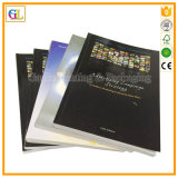 Softcover impresión de libros. La impresión de libro encuadernado