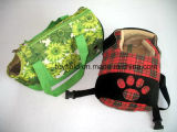 Portador do animal de estimação da base do gato da gaiola do saco de portador do cão