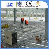 亜鉛は鋼鉄金属によって電流を通された橋床シートに塗った