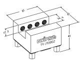 Roestvrij staal ER-010793 van de Houder van de Elektrode van Uniholder van Erowa Compatibel Nippon