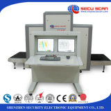 Sicherheits-Röntgenstrahl, der Scanner, Sicherheits-Inspektion-Röntgenmaschine AT10080 überprüft