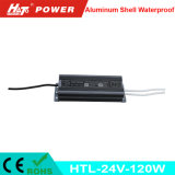 fonte de alimentação Htl do interruptor do transformador AC/DC do diodo emissor de luz de 24V 5A 120W