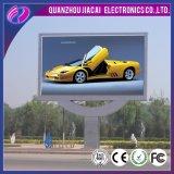P5 LED esterno che fa pubblicità al prezzo dell'affitto dello schermo