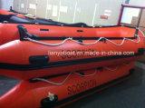 Botes de salvamento infláveis de Liya 2m-6.5m com o motor para a venda