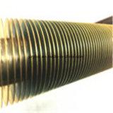 Kupfernes Spirial Flosse-Gefäß für Dampfkessel