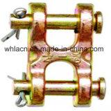 Ligas de aço do tipo H ligações duplas de Hardware de Construção da Forquilha