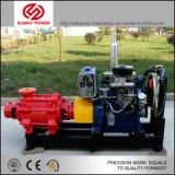 De grote LandbouwPomp van het Water van de Irrigatie met Dieselmotor
