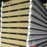 바위 모직 샌드위치 벽면 Rockwool 격리된 내화성이 있는 강철 위원회
