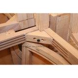 Reposabrazos de las piernas de madera El Restaurante del Hotel Silla de Comedor (ST0021)