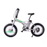 8fun 모터 48V 350W 뚱뚱한 타이어 바닷가 함 Foldable 전기 E 자전거